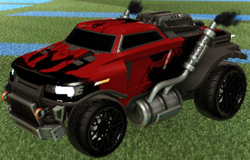 Road Hog - best rocket league cars