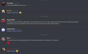 Rocket League Boosting Discord | Professional & Cheap - Mini