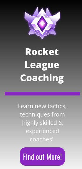 rocket league coaching banner