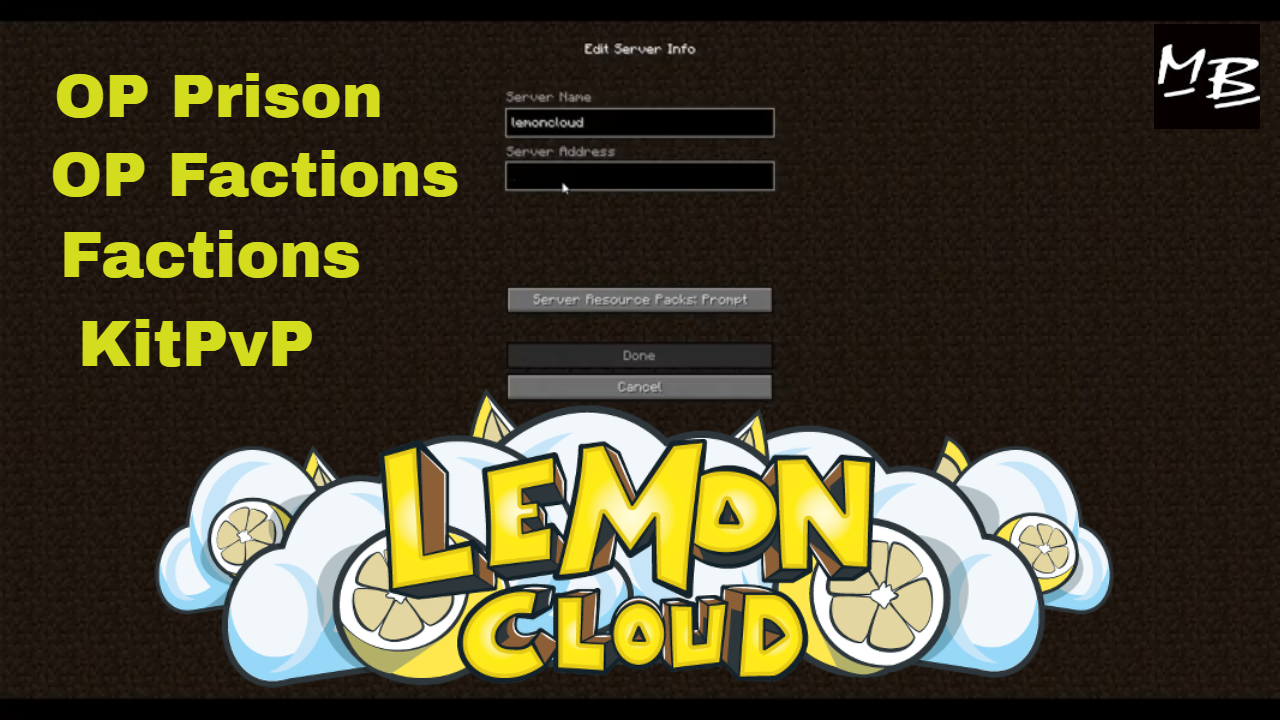 lemoncloud server ip