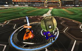 Rocket League kick off goals lucky?