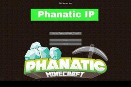 phanatic server ip