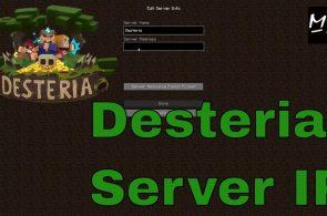 desteria server ip