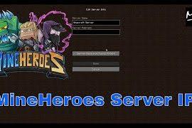 mineheroes server ip
